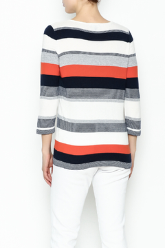 Conrad C Navy Stripes Sweater - Alternate List Image
