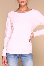 Merritt Charles Conrad Cotton Sweater - Product Mini Image