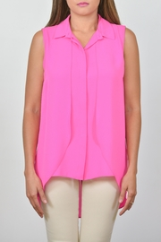 Conrad C Collar Georgette Tank - Product Mini Image