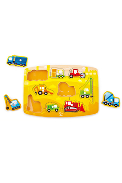 Hape Construction Peg Puzzle - Alternate List Image