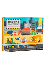 Petit Collage Construction Site Magnetic Play Scene - Product Mini Image
