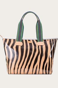 Shoptiques Product: Big Kitty Zipper Tote