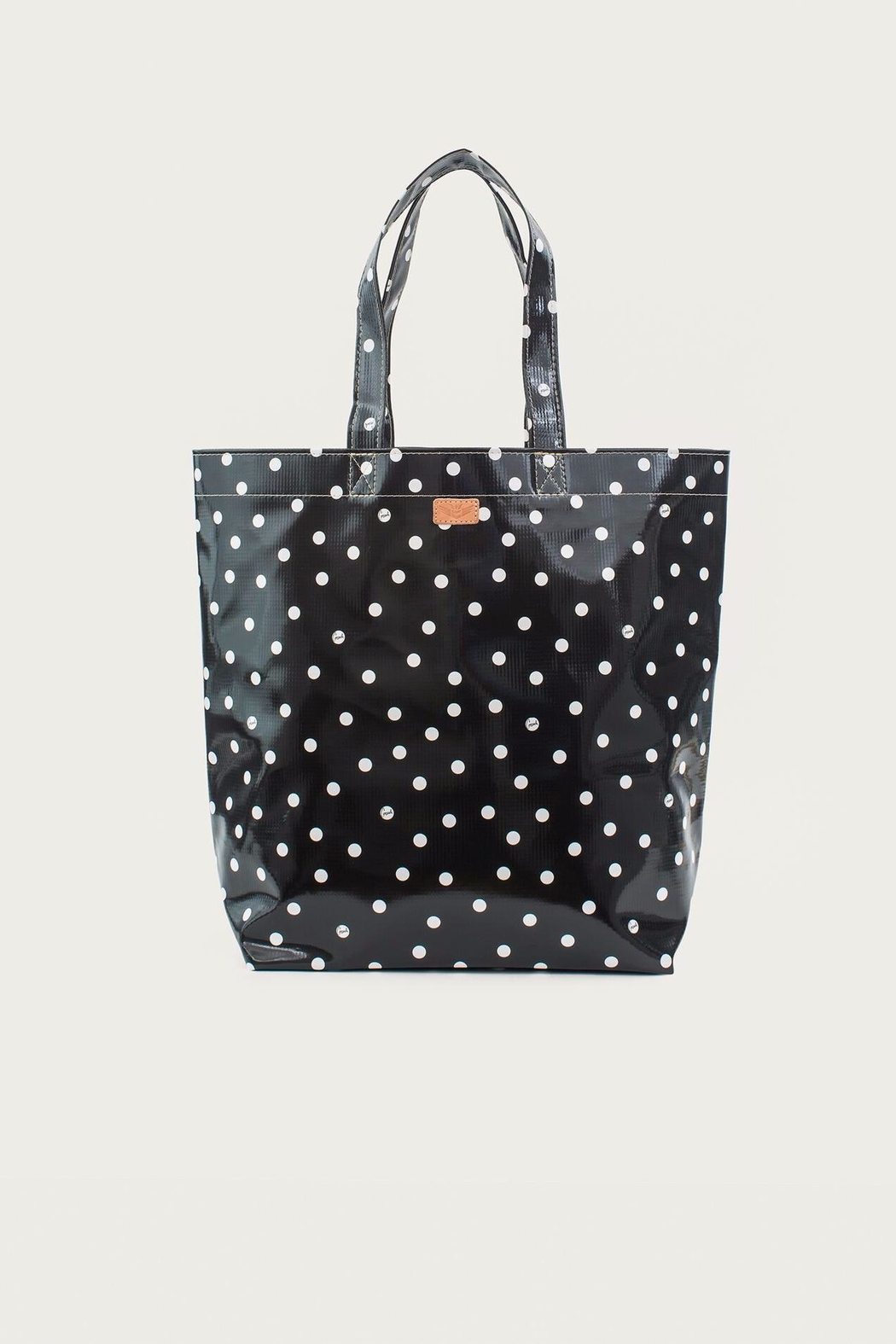 Consuela  Black Dot Bag - Front Cropped Image