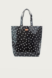 Consuela  Black Dot Bag - Front cropped