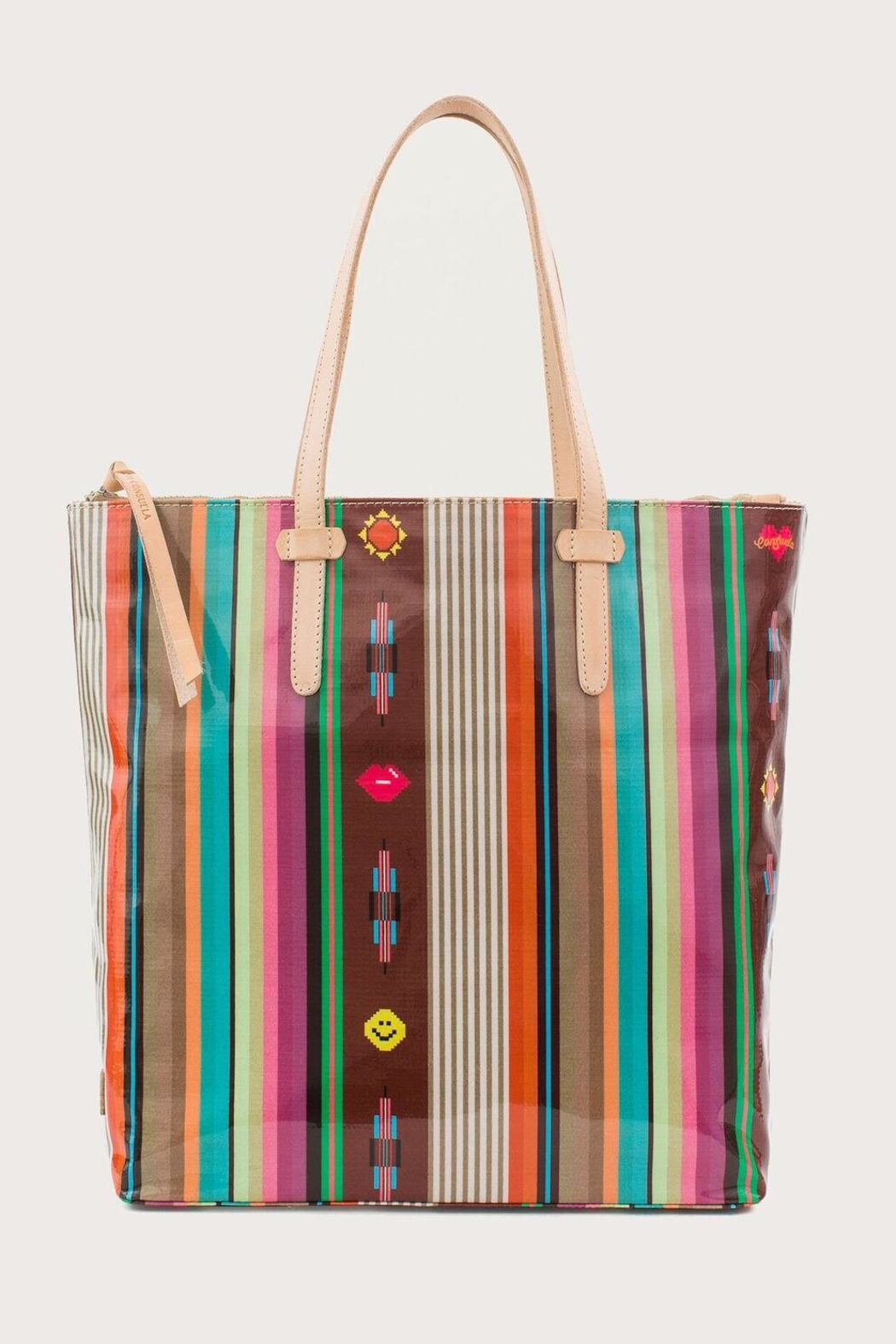 Consuela Rusty Market Tote Bag Front Cropped Image