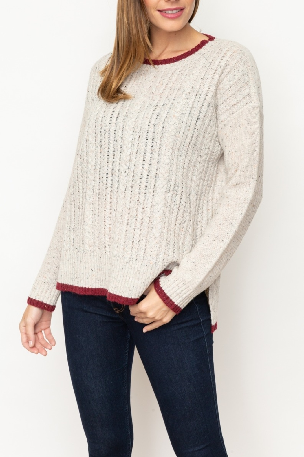 Mystree Cont End Sweater - Main Image