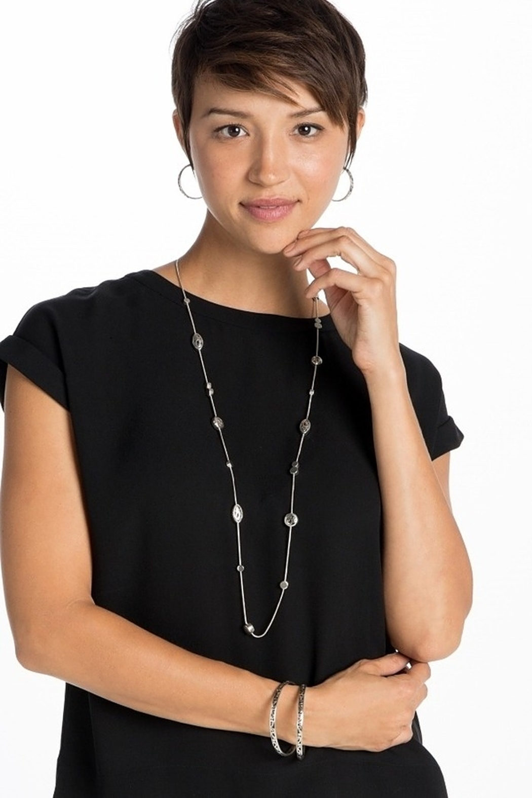 Brighton Contempo Long Necklace J49510 - Front Full Image