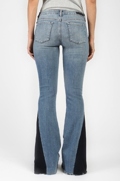 Articles of Society Contrast Flare Jeans - Alternate List Image