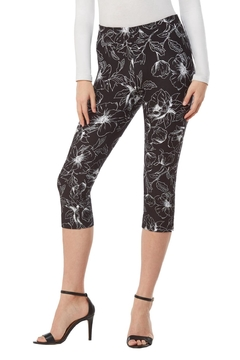 Nygard Contrast Floral Capri - Product List Image