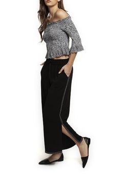 Dex Contrast Stitching Culotte - Product List Image