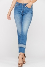 Wishlist Contrast Stripe Jeans - Product Mini Image