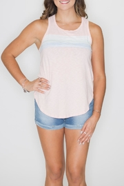 Cherish Contrast Stripe Tank - Product Mini Image