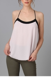 Naked Zebra Contrast Trim Tank - Product Mini Image