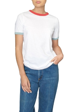 Designers Society Contrast Trim Tee - Product List Image
