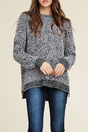Staccato Contrasted Crew-Neck Pullover - Product Mini Image