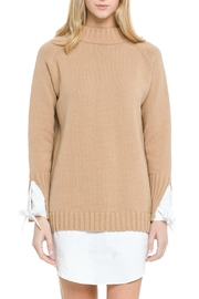 English Factory Contrasting Sweater Dress - Product Mini Image