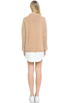 English Factory Contrasting Sweater Dress - Alternate List Image
