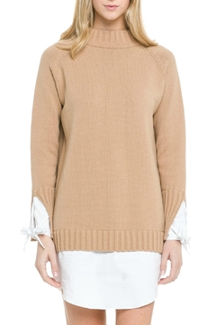 English Factory Contrasting Sweater Dress - Product List Image