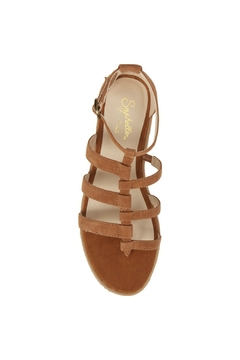 Seychelles Shoes Contribution Tan Suede Sandal - Alternate List Image