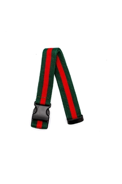 PaulyJen Green and Red Convertible Belt - Alternate List Image