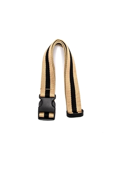 PaulyJen Tan and Black Convertible Belt - Alternate List Image