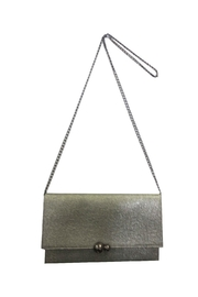 Sondra Roberts Convertible Clutch Nappa PU Metal Bubble Closure - Product Mini Image