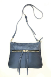 Sondra Roberts Convertible Crossbody Nylon with Nappa PU Trim - Product Mini Image