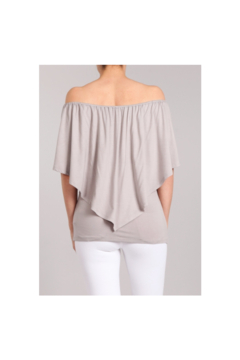 Chatoyant  Convertible Elasticized Top - Frost Gray - Alternate List Image