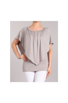 Chatoyant  Convertible Elasticized Top - Frost Gray - Product List Image