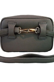 Ahdorned Convertible Leather Fanny Pack-Cross Body Bag - Other