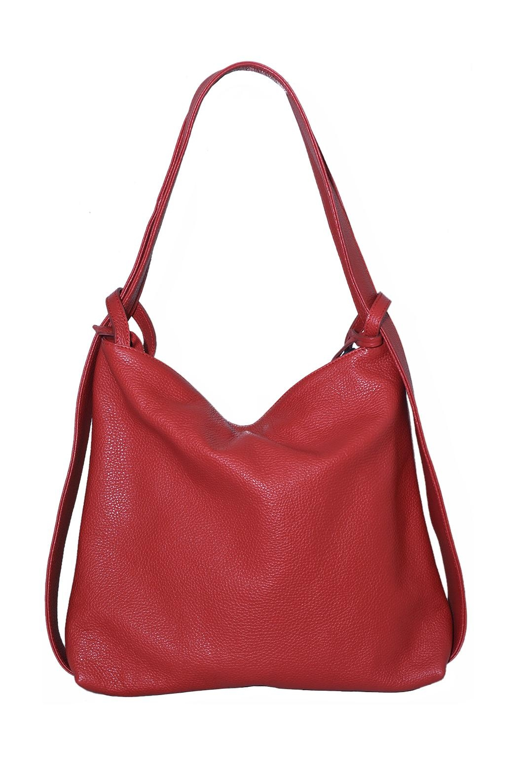 Bevini Modena Convertible Shoulder Backpack - Front Cropped Image