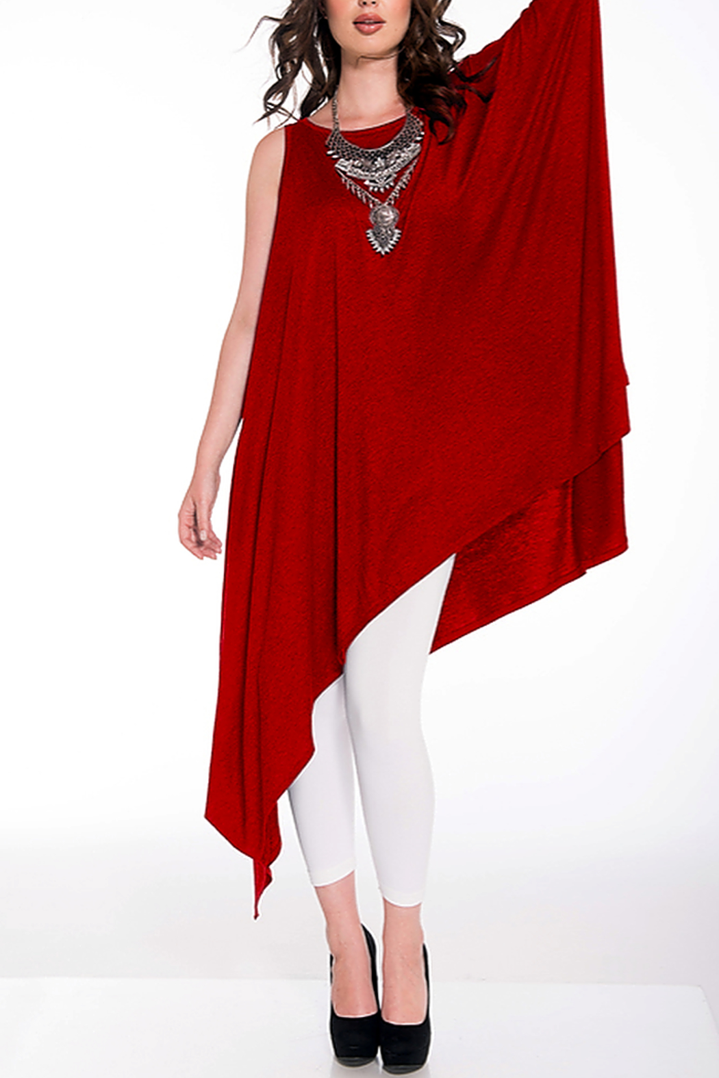 Shawl Dawls CONVERTIBLE TUNIC - Front Cropped Image