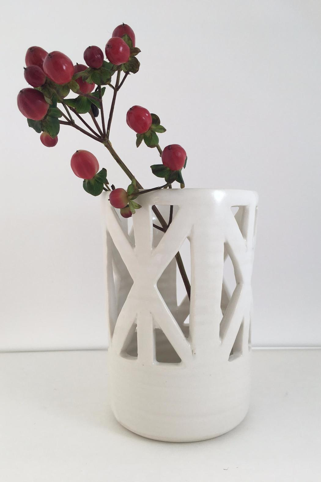 Convivial Production Geometric Candle Holder - Side Cropped Image