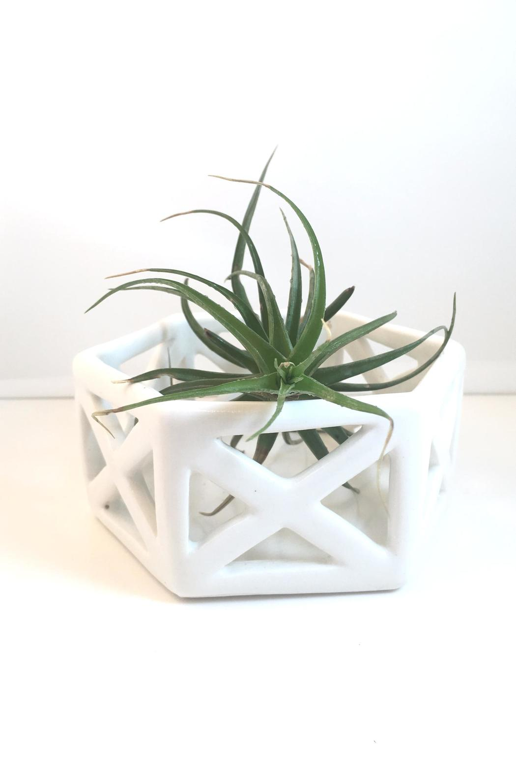 Convivial Production Geometric Candle Holder - Front Cropped Image
