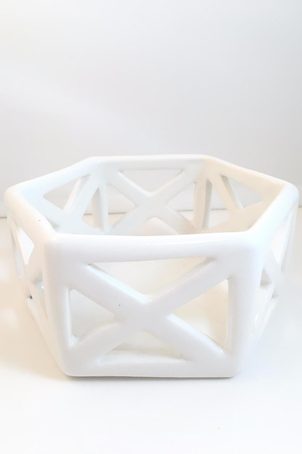 Convivial Production Geometric Candle Holder - Front Full Image