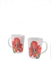 Convivio Flower Mugs - Front cropped
