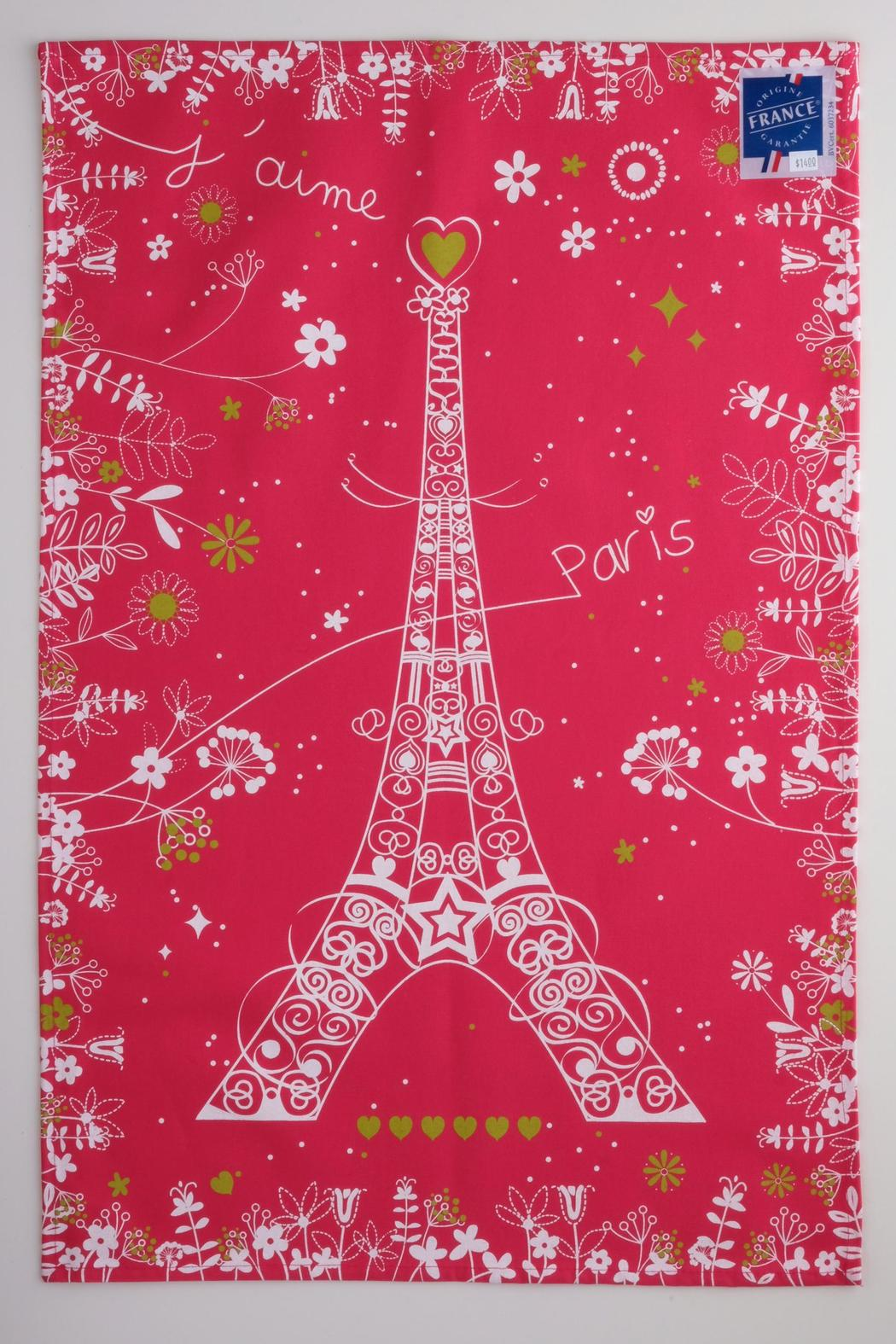 Convivio French Tea Towel - Front Cropped Image