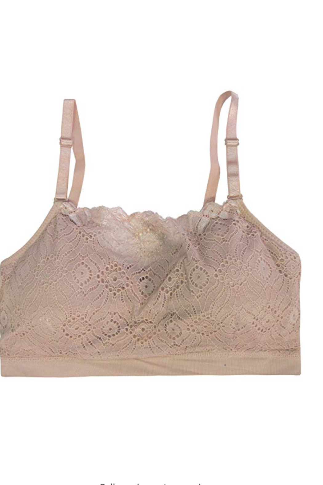 Coobie Lace Coverage Bra - Front Cropped Image