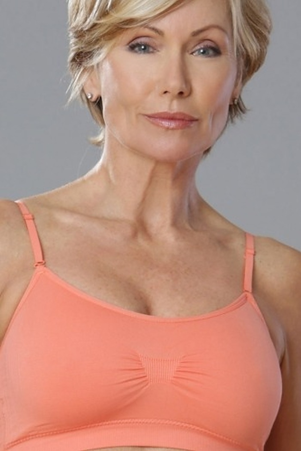 Total Stockroom Coobie Seamless Scoopneck Bra - Front Cropped Image