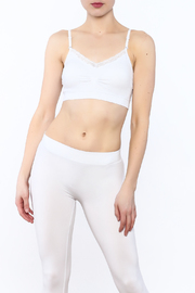 Coobie V-Neck Sports Bra - Product Mini Image