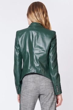 Veronica Beard Cooke Leather Jacket - Alternate List Image