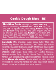 Candy Club Cookie Dough Bites 6oz - Side cropped