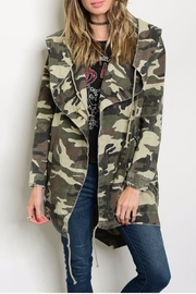 Cookie's Clothing Co  Camo Utility Jacket - Product Mini Image