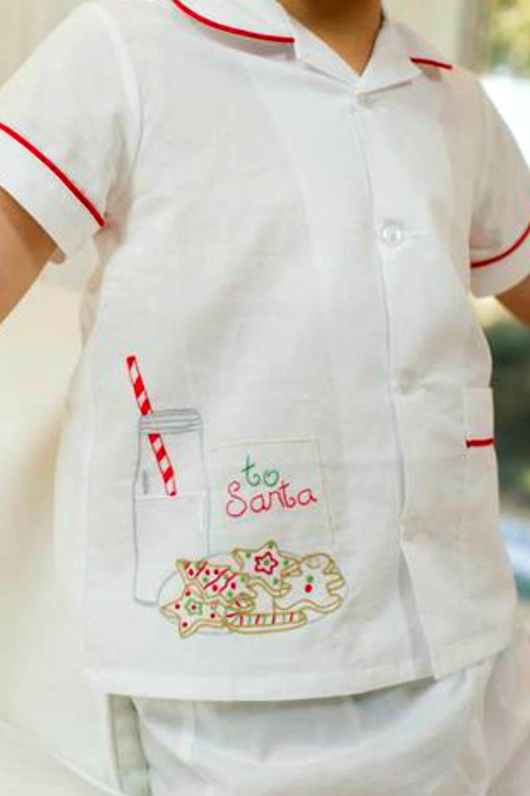 Lullaby Set Cookies-For-Santa Loungewear - Front Full Image
