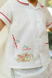 Lullaby Set Cookies-For-Santa Loungewear - Front full body