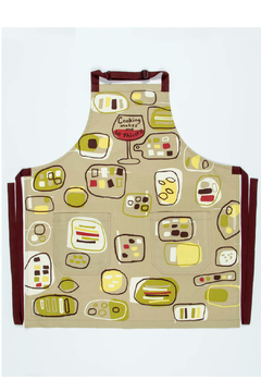 Blue Q Cooking Makes Me Thirsty Apron - Product List Image