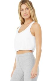 Alo Yoga  Cool Breeze Tank - Front cropped