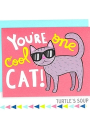 Stonesthrow Boutique Cool Cat Card - Product Mini Image