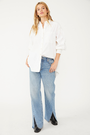 Free People  Cool & Clean Solid Buttondown - Product Mini Image