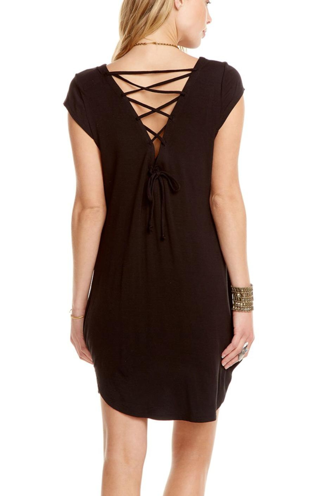 Chaser Cool Jersey Dress - Front Full Image